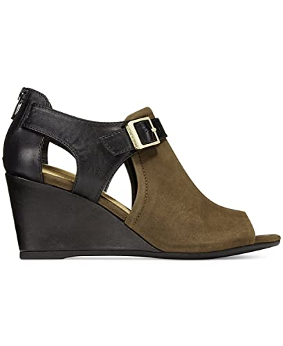 06a2bfefe446 Giani Bernini Frauen Alyssaa Peep Toe Leger Leder Sandalen mit Keilabsatz. adidas  Superstar Rize Damen Sneaker ...