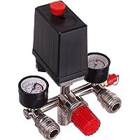 Drukregelaar, luchtcompressorschakelaar met snelkoppelingen, luchtregelaar, drukschakelaar, compressorschakelaar…