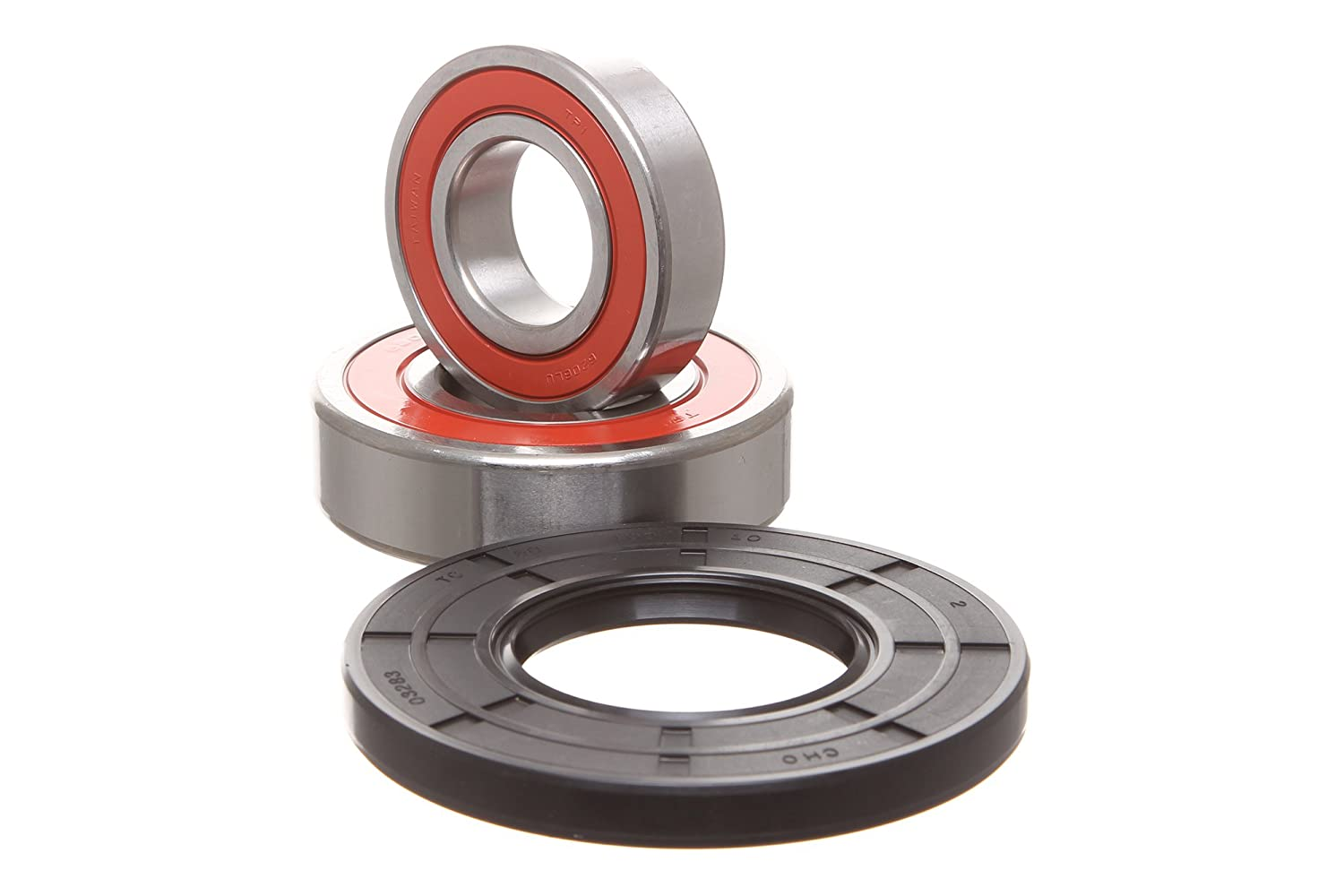 REPLACEMENTKITS.COM - Brand Fits Kenmore Elite HE3T HE4T & HE5T Whirlpool Replacement Bearing & Seal Kit -