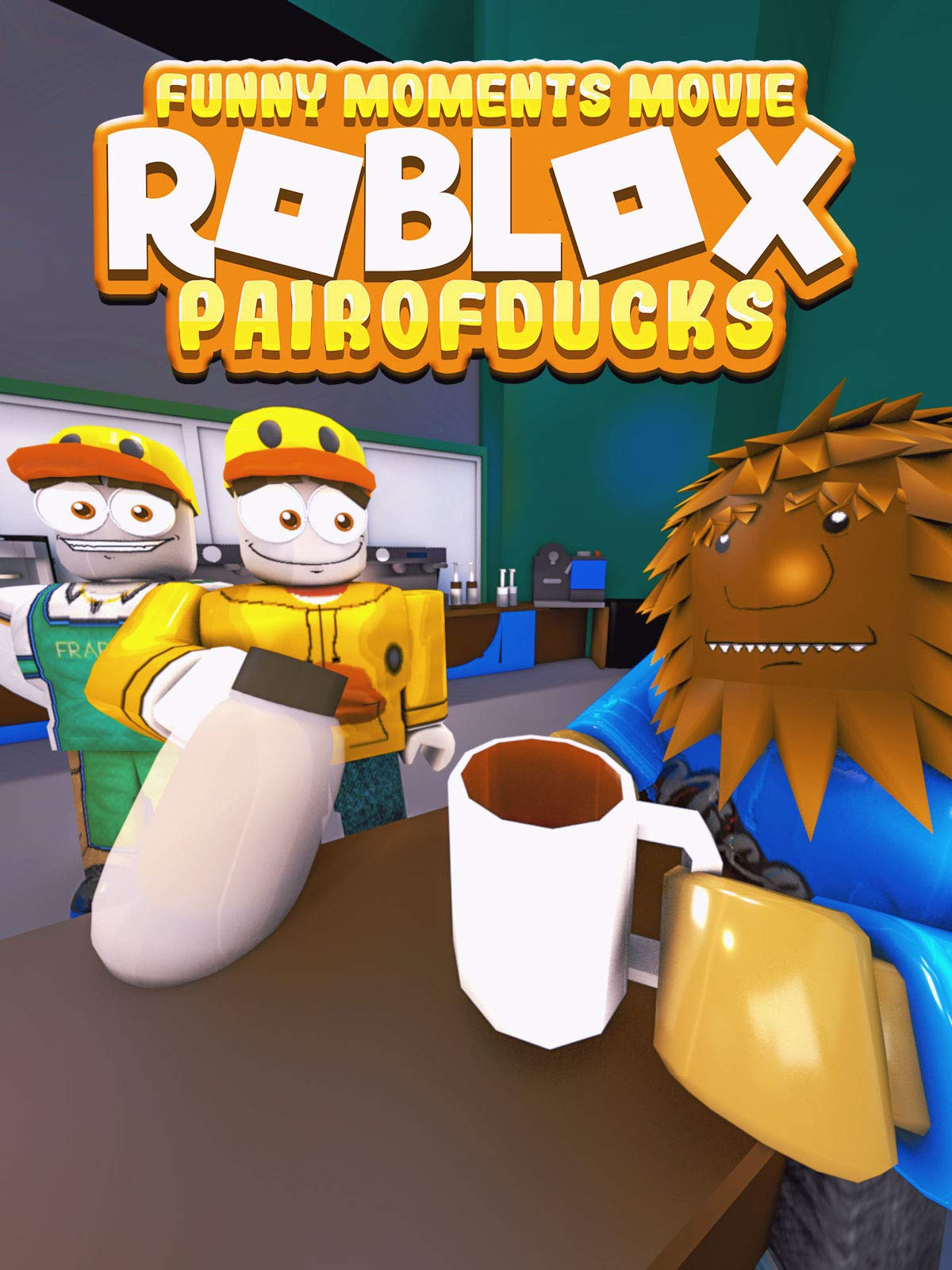 Amazoncom Watch Clip Roblox Movie Funny Moments - roblox full movie