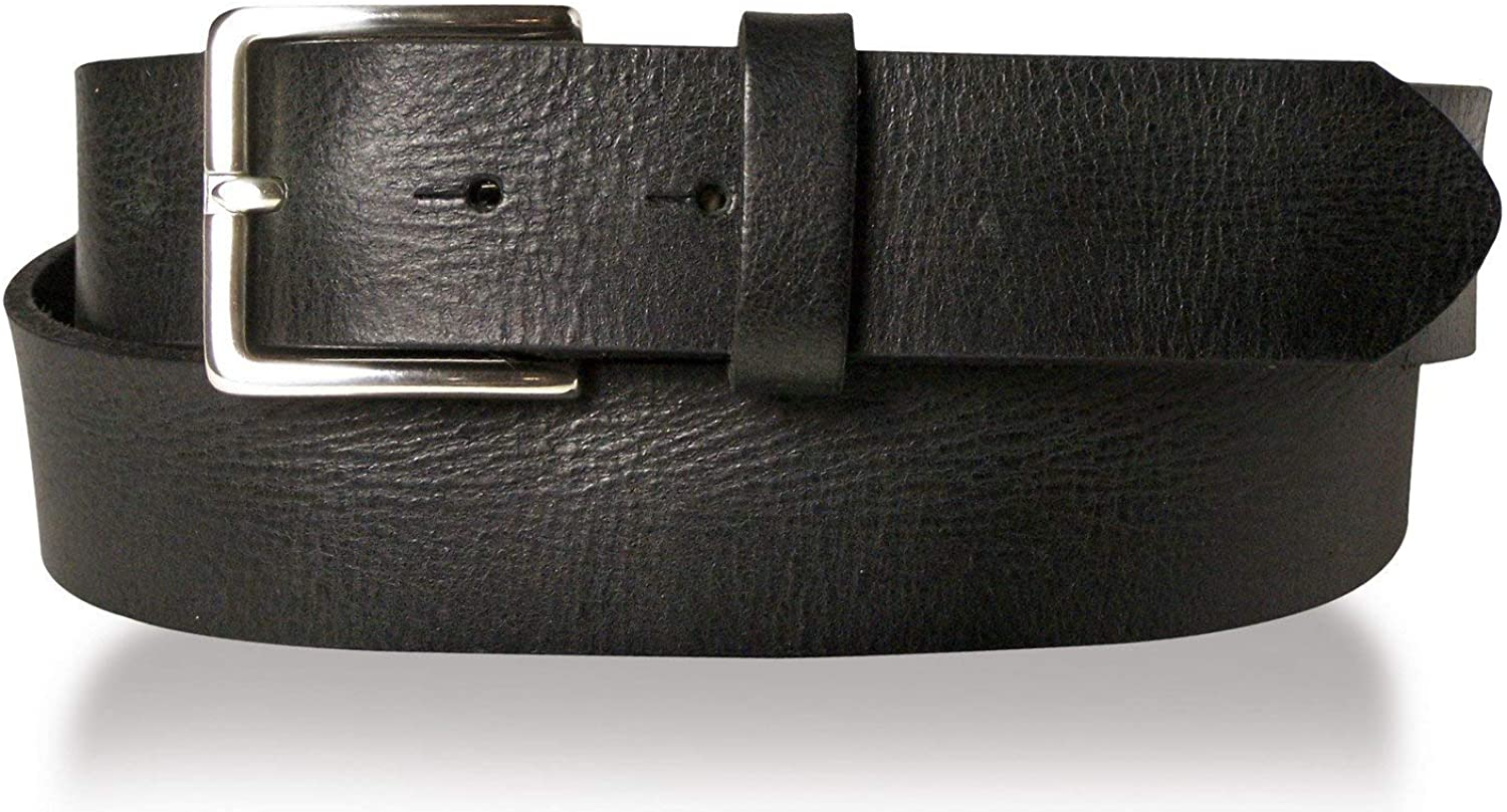brass buckle rust-free FRONHOFER Best Patina premium full-grain leather belt