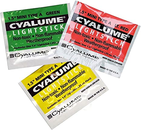 Cyalume mini-sticks X 10