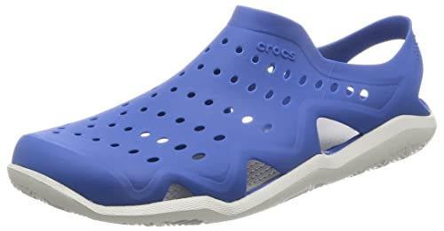 cc7eed2635d8 crocs Men s Blue-White Mesh Clog(M9)  Buy Online at Low Prices in ...