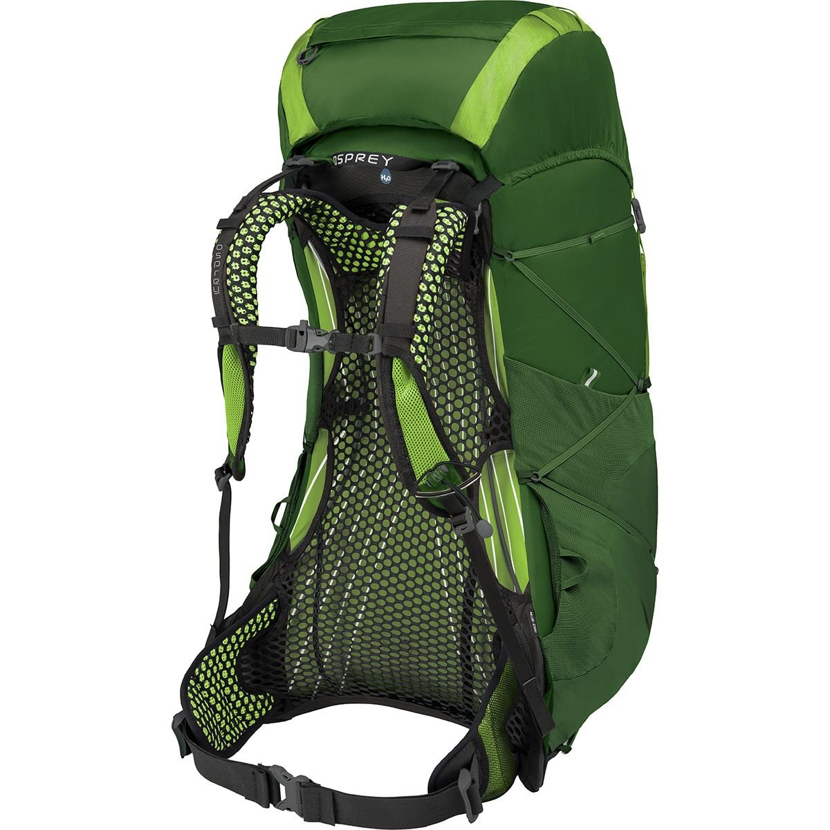 Small 10001490 Tunnel Green Osprey Packs Exos 58 Backpacking Pack