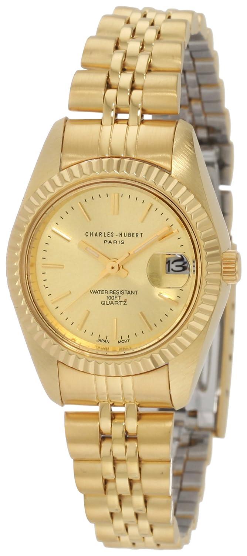 Gold-Tone Quartz Armbanduhr