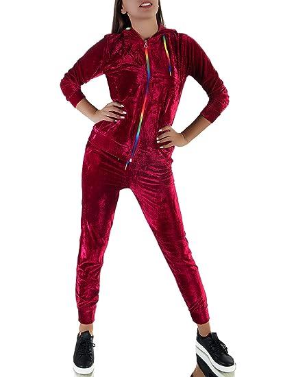 Diva-Jeans P134 Damen Nicki Jogginganzug Hose Jacke Sportanzug Anzüge Trainingsanzug Anzug