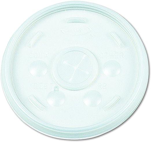 Amazon Com Dart 32sl Plastic Lids Straw Slot Fits 32oz Hot Cold Foam Cups White Case Of 500 Industrial Scientific