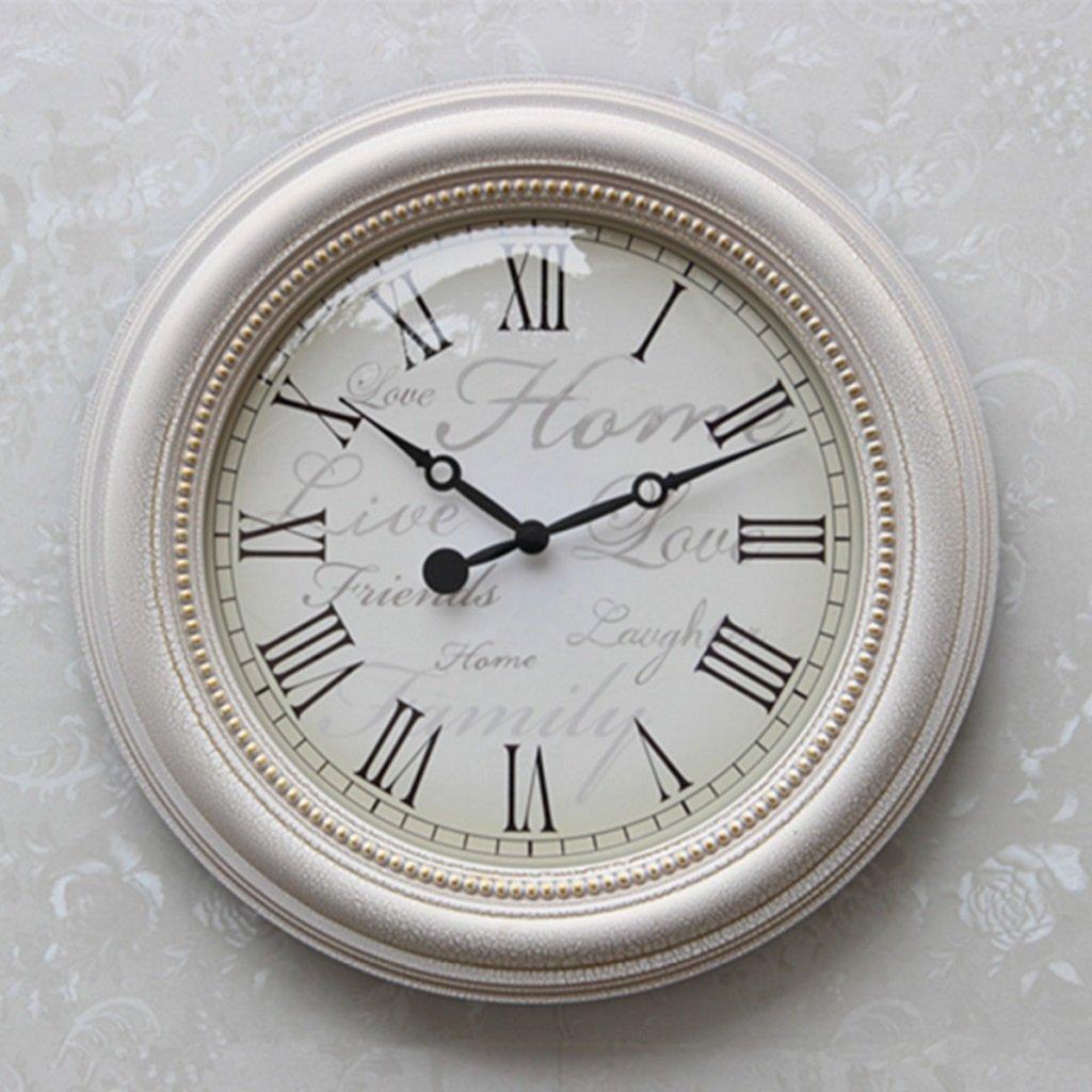 ヨーロッパの石英の壁時計、シンプルな創造的なリビングルームアートの壁時計 (サイズ さいず : Diameter50cm) B07DWXT5VCDiameter50cm