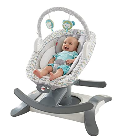 aeb831cf9c1c Amazon.com   Fisher-Price 4-in-1 Rock  n Glide Soother   Baby