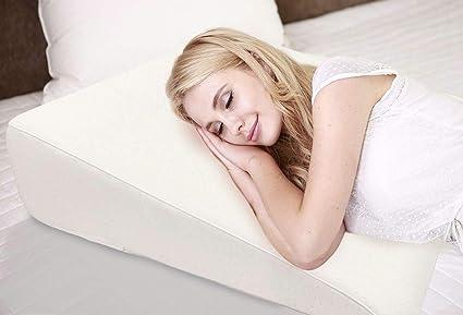 Amazon.com: Almohada de cuña de 7.5 in para reflujo ácido ...