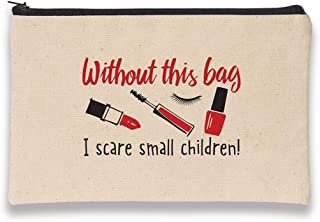 product image for Imagine Design Relatively Funny Without, Canvas Bag, Red/Black/White
