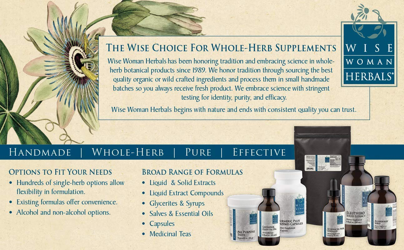 Wise Woman Herbals Turmeric Complex Plus Enzymes Capsules All-Natural Turmeric Curcumin 90 Capsules