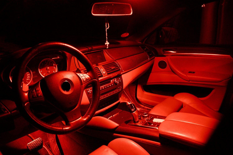 LED Innenraumset Roja en ajuste para Seat Leon 1M Año 1999-2006: Amazon.es: Coche y moto