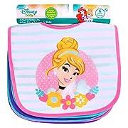 Disney Princess Baby Girls' Bibs 6 Pack