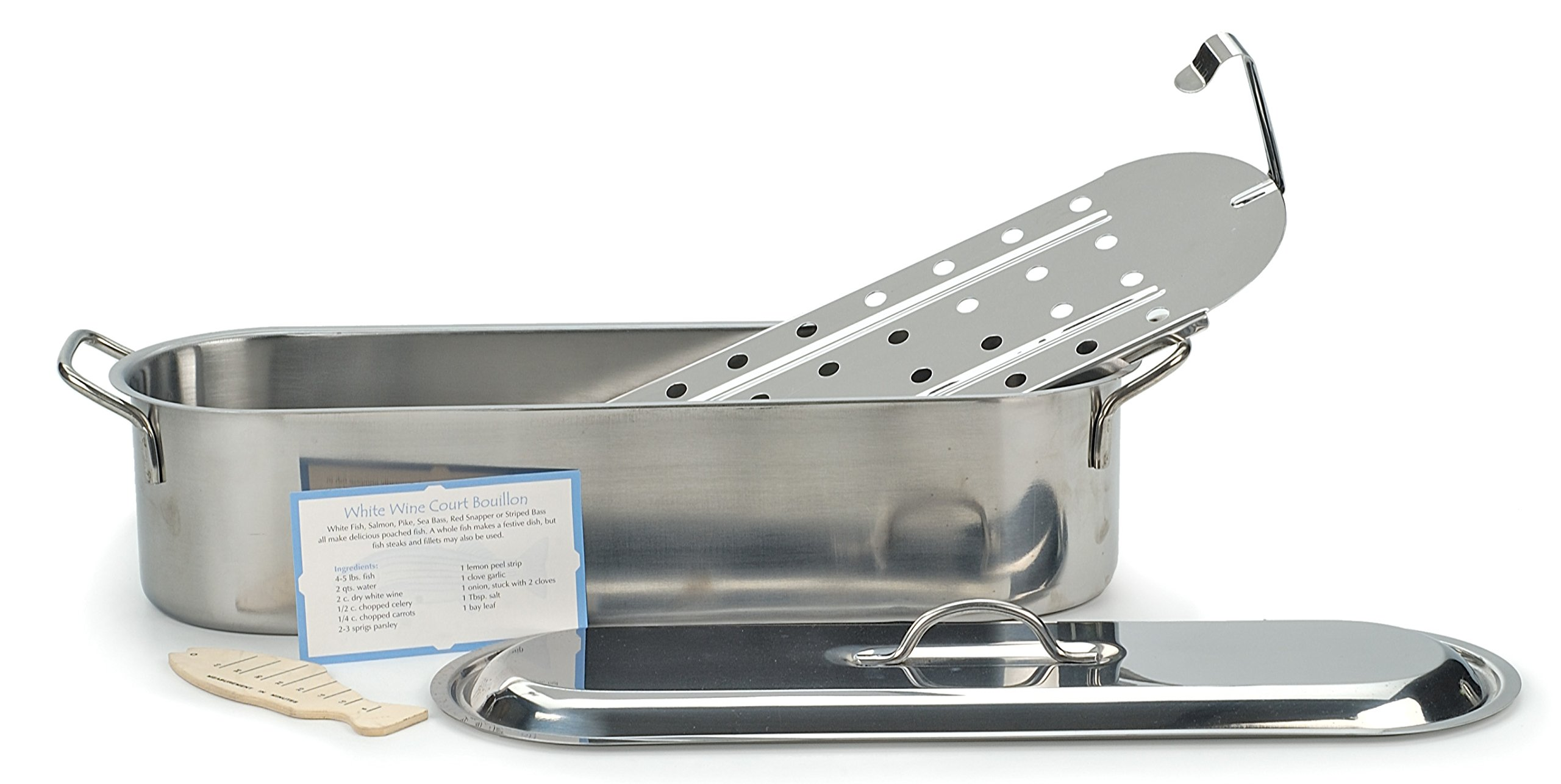RSVP ST-20P Endurance Stainless Steel Fish Poacher, 20-inches by RSVP International (Image #1)