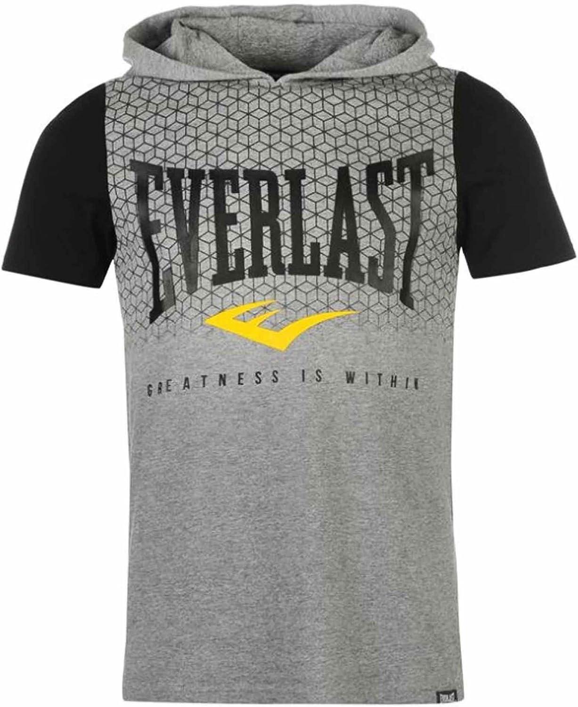 U.S.A. Pro Everlast NY Bronx - Camiseta con Capucha, Hombre, Large ...