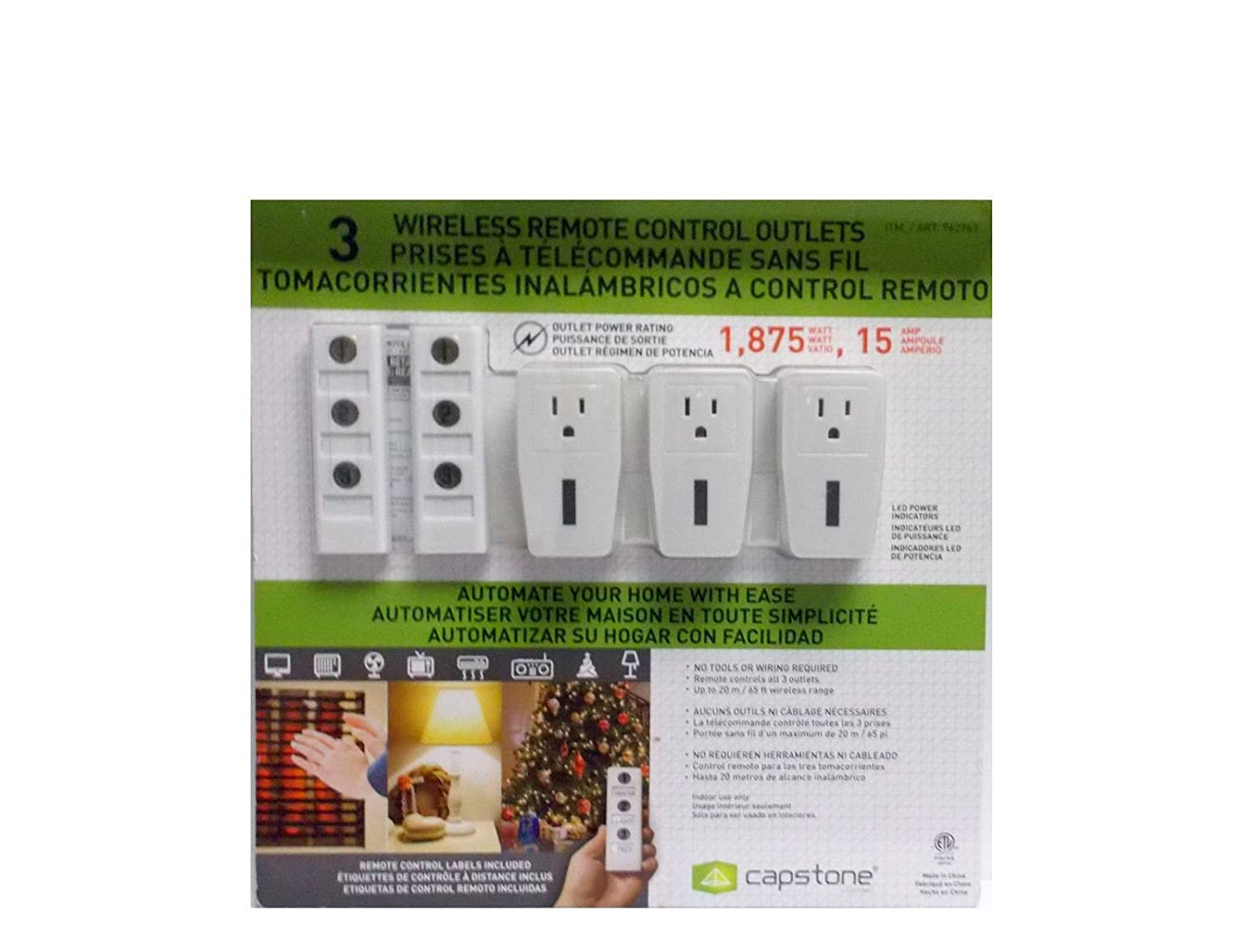 Wireless Remote Control Outlets - - Amazon.com