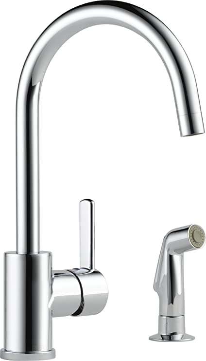 Delta Faucet P199152LF Peerless Apex, Single Handle Kitchen Faucet ...