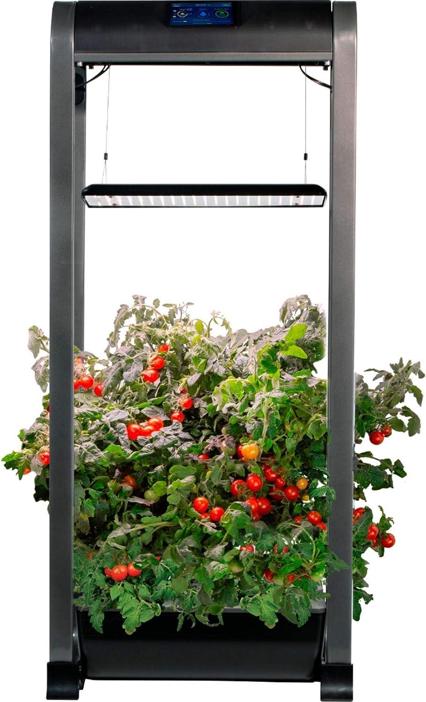 AeroGarden - Farm 12 XL Easy Setup - Healthy Eating Garden kit 12 Salad Bar Pods Included- App Capability - Black
