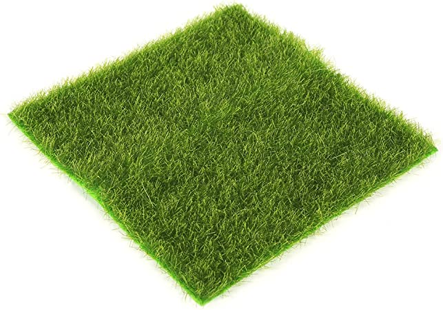 2Size Artifical Garden Grass Lawn Ornament Moss Miniature Fairy Craft Home Decor