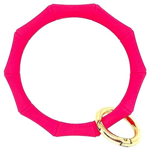 Amazon.com: Hadley Mae Designs llavero pulsera llavero ...