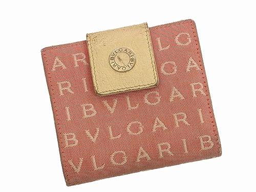 e58b01862085 Amazon | (ブルガリ) Bvlgari 二つ折り財布 ロゴマニア レディース 中古 ...