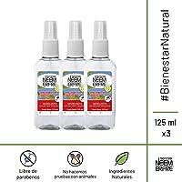 Paquete de 3 - Repelente Natural para Mosquitos de NEEM Ecofreindly