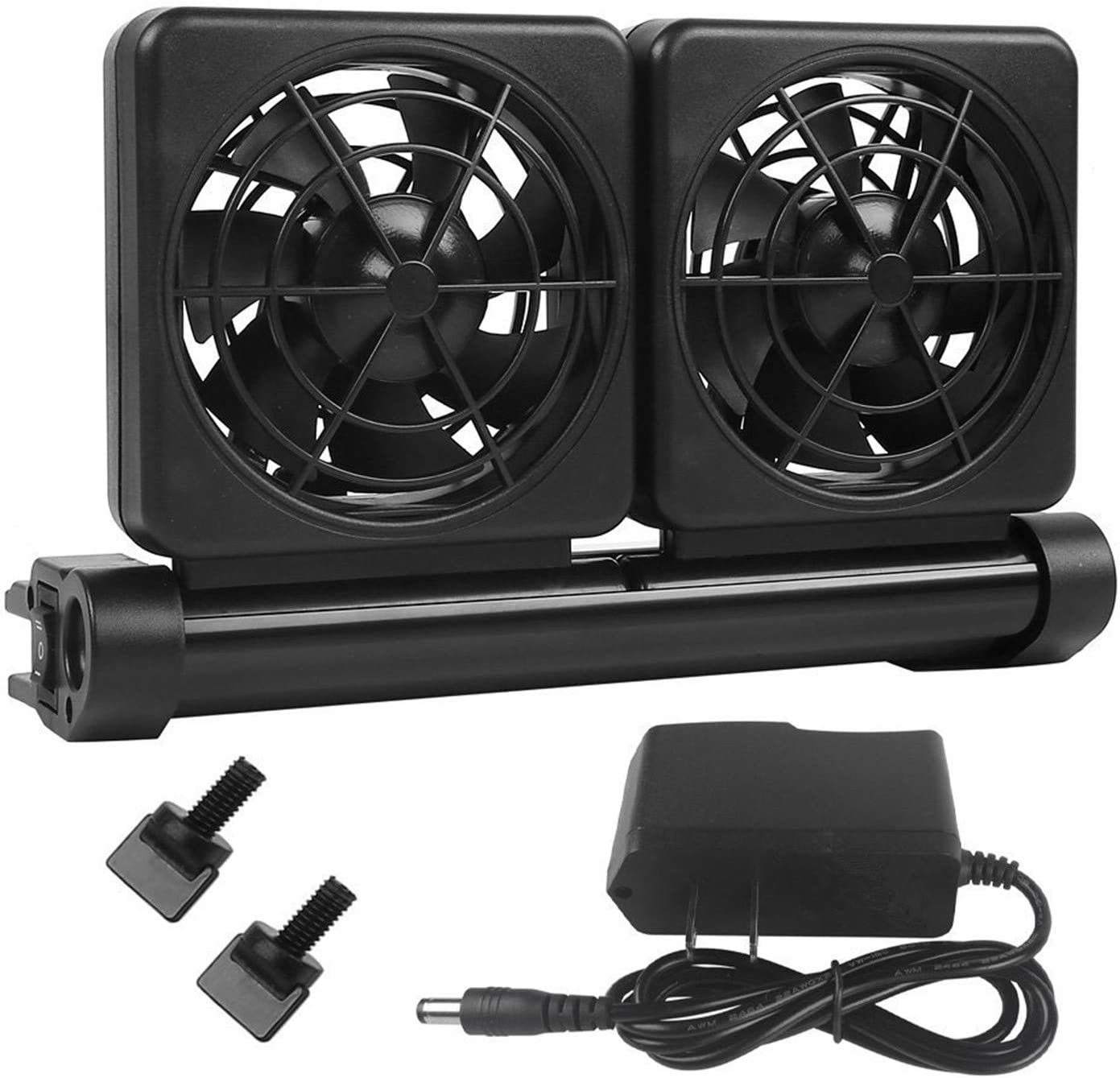 XMHF Aquarium Chiller, Fish Tank Cooling Fan System for Salt Fresh Water