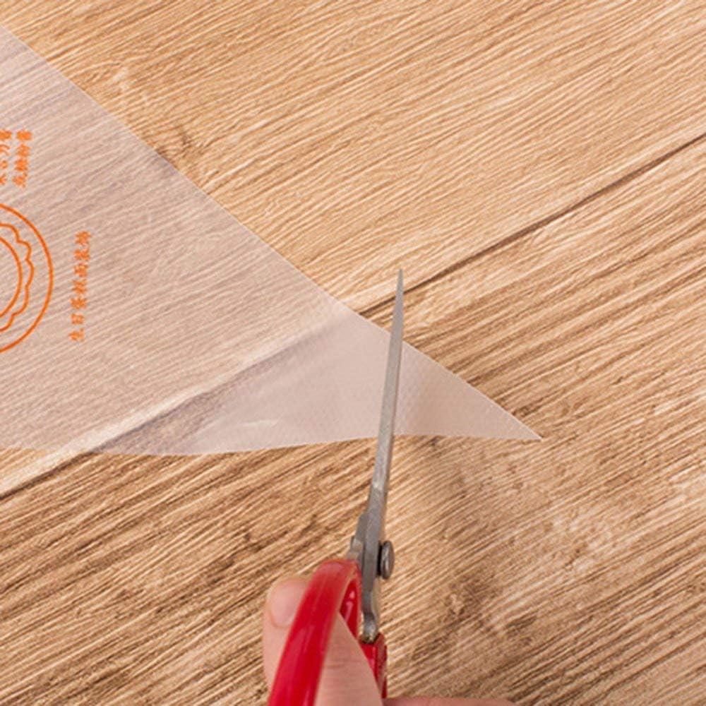 Radicalsign 100Pcs Plastic Disposable Piping Bags Cake Cream Decorating