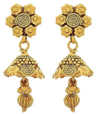 1b7bb2fc1e6 Buy BFC- Buy For Change Ethnic Royal Design One Gram Gold Plated ...