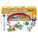 Picnmix Happy Farm Educational and Learning Puzzle Game and Toy for 3 year olds to 7 year olds