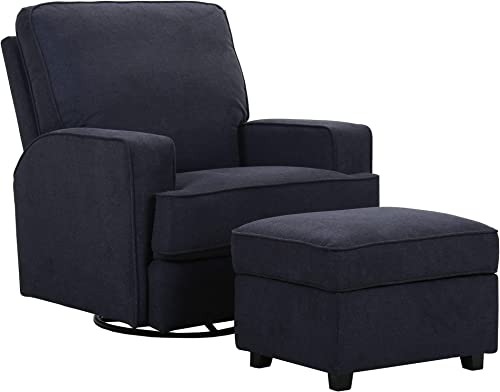 Amazon Brand Ravenna Home Contemporary Swivel Glider Accent Chair