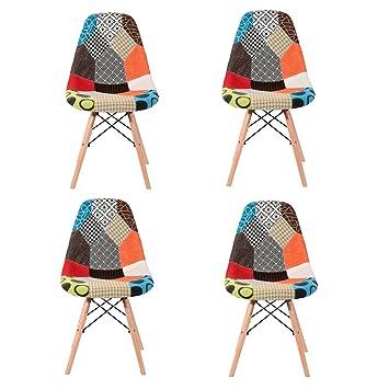 Panana Esszimmerstuhl, 4x Stühle Für Wohnzimmer, Küchen, Esszimmer.
