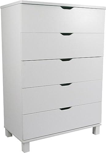 Smart Home Modern Bedroom 5-Drawer Dresser