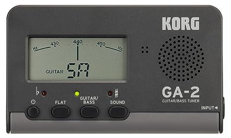 Korg GA-2 sintonizador Digital para Guitarra y Bass