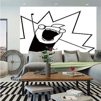 Amazoncom Sosung Humor Decor Huge Photo Wall Muralhappy