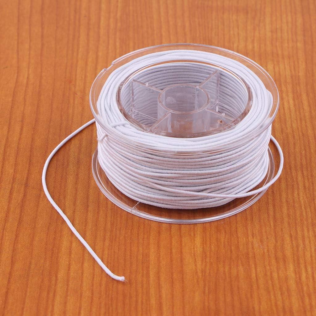 dailymall 1 Rouleau De Fil /élastique Fabrication De Bijoux Cordon Bracelet Bricolage Artisanat Perles Perles Cha/îne
