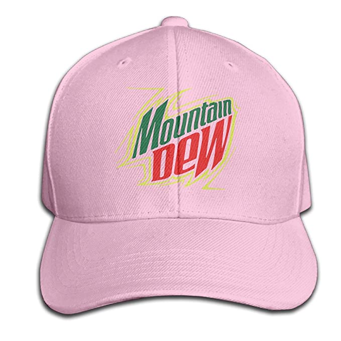 Amazon.com  BEDOO Men s Mountain Dew Energy Drinks Baseball Hats ... f3973795837e