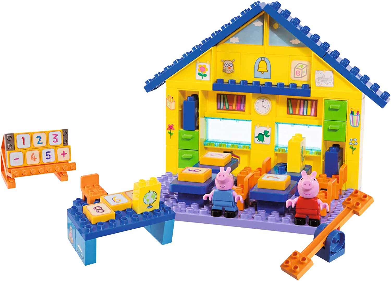 Peppa Wutz Spielfiguren Klassenzimmer Klasse Lehrer Figur Actionfigur Spielzeug