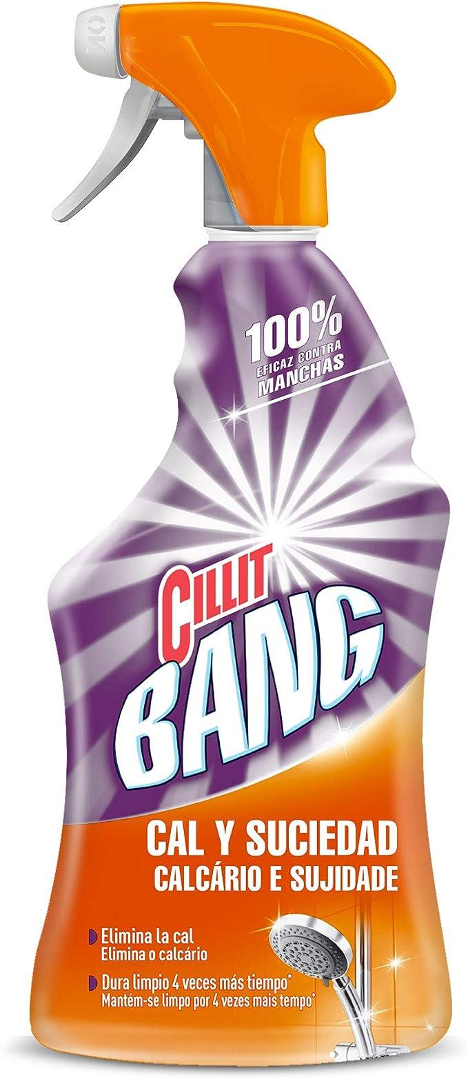 Cillit Bang Cal & Suciedad Limpiador Spray - 750 ml: Amazon.es: Alimentación y bebidas