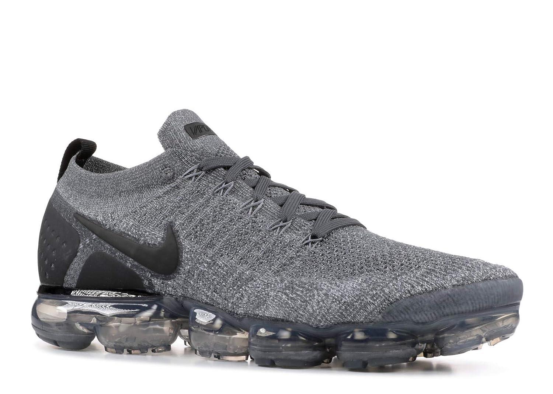 MultiCouleure (Dark gris noir Wolf gris noir 002) Nike Air Vapormax Flyknit 2, Chaussures de Running Compétition Homme 43 EU