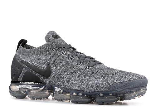 Nike Air Vapormax Flyknit 2 (Dark GreyBlack Wolf Grey 8.5)
