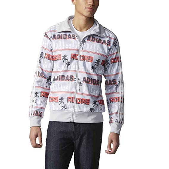 b09d63aff016 adidas Originals Mens LA Palm Track Jacket  Amazon.co.uk  Clothing