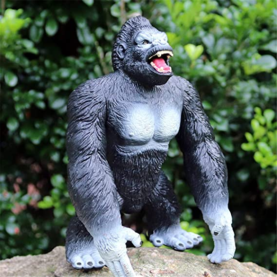 JJM Pan troglodytes Figure Chimpanzee Animal Orangutan Collector Gorilla Toys