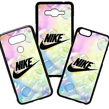 eac7c2c3be7 elhuron Carcasas de movil Fundas de moviles de TPU Compatible con Huawei P10  Lite Modelo Nike Marca Moda Burbujas: Amazon.es: Electrónica