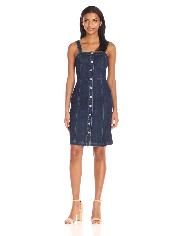 2e40252d3c Amazon.com  AG Adriano Goldschmied Women s Sydney Button Down Dress   Clothing