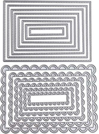 Papel /Álbum Scrapbook Troqueles de Metal Dies Corte Plantillas Estarcir para Tarjeta DIY