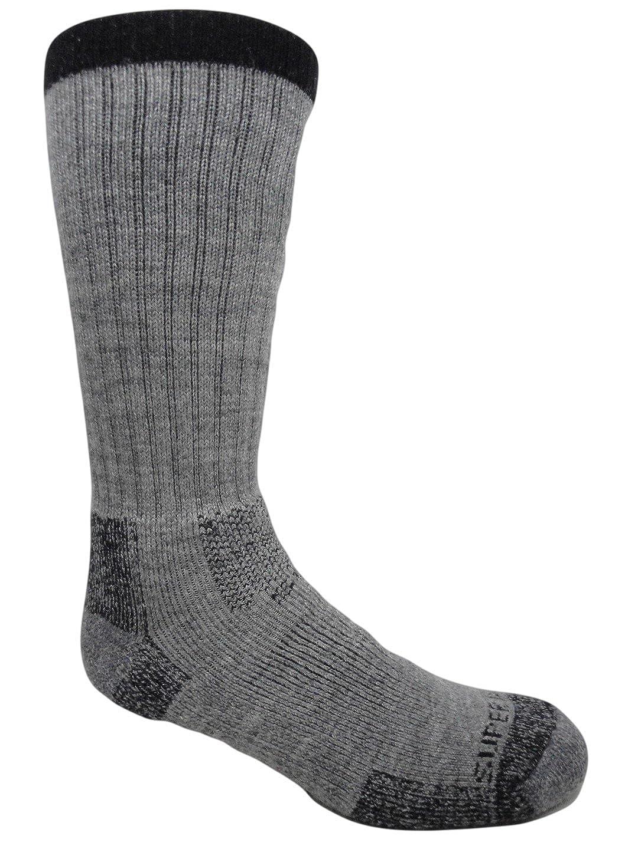 Fields Merino Wool Thermal Hiking Socks J.B 2 Pairs