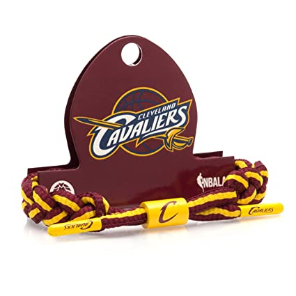 7ec0e4fc397 Amazon.com   Rastaclat NBA Cleveland Cavaliers Basketball Shoelace Bracelet  RC001CLC   Sports   Outdoors