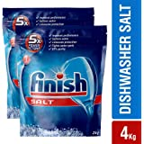 Finish Dishwasher Salt - 2 kg (Pack of 2)